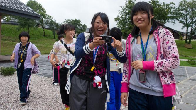 Japończycy z terenów dotkniętych trzęsieniem na wakacjach w Polsce