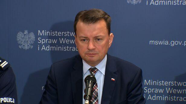 Minister Błaszczak o liście Hanny Gronkiewicz-Waltz TVN24