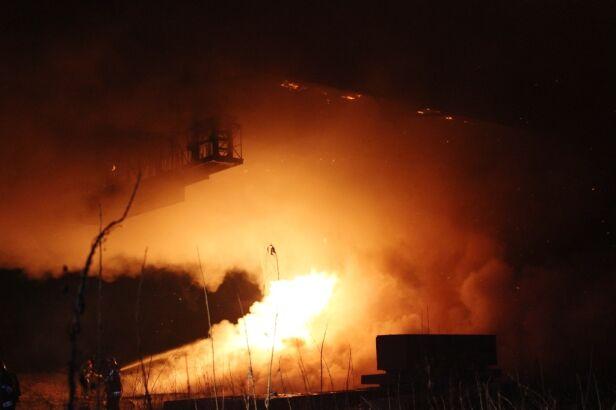 Tak strażacy walczyli z ogniem Straż Pożarna
