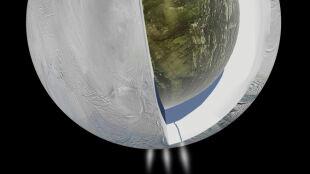 Olbrzymi ocean wody na księżycu Saturna: według NASA i ESA może tam istnieć życie