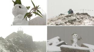 Lato, jesień, a może jednak zima? W górach spadł pierwszy śnieg
