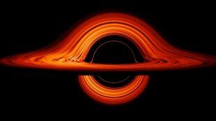 Fantastyczna wizualizacja czarnej dziury w kosmosie