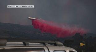 Pożary trawią Stany Zjednoczone (PAP/EPA/CHRISTIAN MONTERROSA)